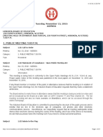 Full Agenda Hoboken Board of Education Nov2016