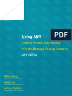(Scientific and Engineering Computation) William Gropp, Ewing Lusk, Anthony Skjellum-Using MPI_ Portable Parallel Programming With the Message-Passing Interface-The MIT Press (2014)