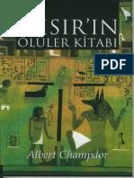 Albert Champdor - Ölüler Kitabı