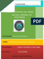Ministerio de Economía y Finanzas Públicas Ultimo