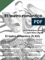 El Teatro Romantico 8º