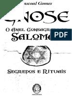 Gnose o Anel Consagrado de Salomao