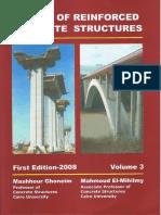 Design of Reinforced Concrete Structure - Volume 3 - DR. Mashhour a. Ghoneim