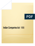Indian Companies Act Ppt