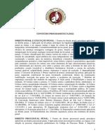 Conteúdo Programático MP-PI 2012 - Promotor de Justiça