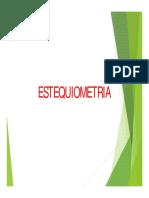 Esteqiometría