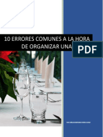 eBook 10 Errores Que No Debes Cometer a La Hora de Organizar Tu Evento
