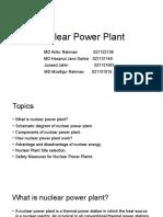 Nuclear Power Plant Uiu Arifur