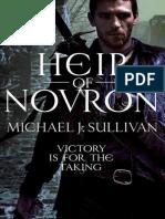 Michael J. Sullivan - Riyria Omnibus 03 - Heir of Novron
