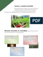 Manejo de Recursos y Economía Sostenible