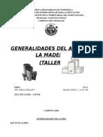 Generalidades (Acero y Madera) Taller