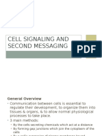 Cell Signaling and Second Messaging Tugas Dr.agung Spog