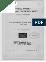 USA Experimental Model Basin
