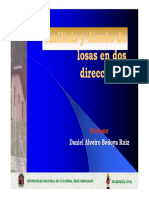 Clase Losas en Dos Direcciones