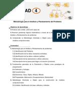 Guia Didáctica Unidad 4 Metodología Para El Análisis y Planteamiento Del Problema