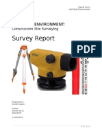 Surveying Report Leveling