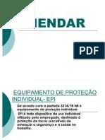 EQUIPAMENTO DE PROTEÇÃO INDIVIDUAL- EPI