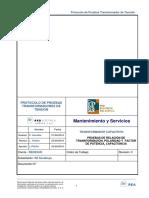 Protocolo Prueba Transformador de Tension Cl-2026