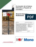 Hydraulic Wellhead Drive Manual Spanish