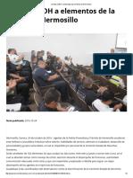 24/10/16 Orienta CEDH a Elementos de La Policía de Hermosillo - TermómetroenLinea