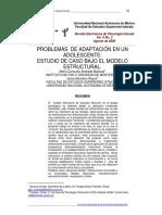 Problemas de Adapatacion en Un Adolescente.pdf