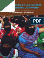 Cuaderno Experiencias de Mujeres Zapatistas Escuelita