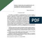 Ramgo, Categoría y Orden de Los Elementos en Los Grupos Nominales (Begoña Montero)