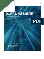 Quantum and Big Bang