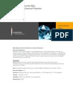H0607 MgF2 Product Sheet