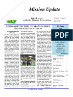 Autumn 2008 Mission Update Newsletter - Catholic Mission Association