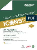 ICONS16 Program