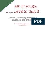 iPro walk through guide - Unit 3