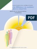 Rivera, A. (2004) Vinculación de las bibliotecas y la academia. IX_CIB_2002