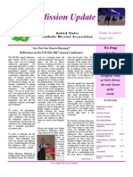 Winter 2007 Mission Update Newsletter - Catholic Mission Association