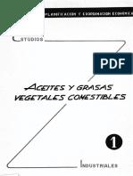 Estudios de Aceites y Grasas Vejetales