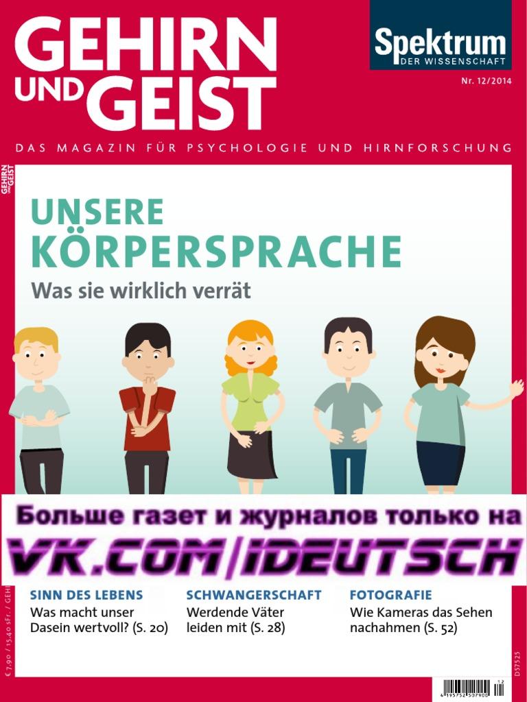 Gehirn Und Geist Magazin Dezember No 20 20   PDF