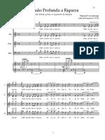 Quão Profunda a Riqueza (choral e piano)