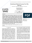 Distributed Hybrid System for File Sharing