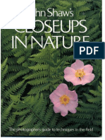 Closeups in Nature. the Photographer's Guide to Techniques in the Field (John Shaw, 1987)