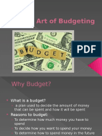 the art of budgeting