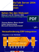 BizTalk Server 2004 ERP Integration