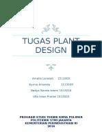 Tugas Plant Design
