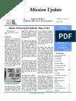 Autumn 2007 Mission Update Newsletter - Catholic Mission Association