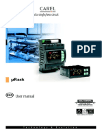 Carel μRack - mRack - User manual Eng.pdf