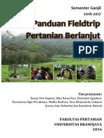 Panduan Fieldtrip Pertanian Berlanjut Oktober 2016_Final