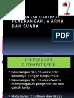 Lingkungan Kerja Dan Ergonomi (K6-7)