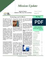Spring 2007 Mission Update Newsletter - Catholic Mission Association