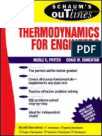 Thermodynamics for Engineers - Schaum's Outlines