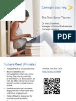 The Tech Savvy Teacher