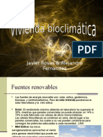 Vivienda Bioclimatica Power Point